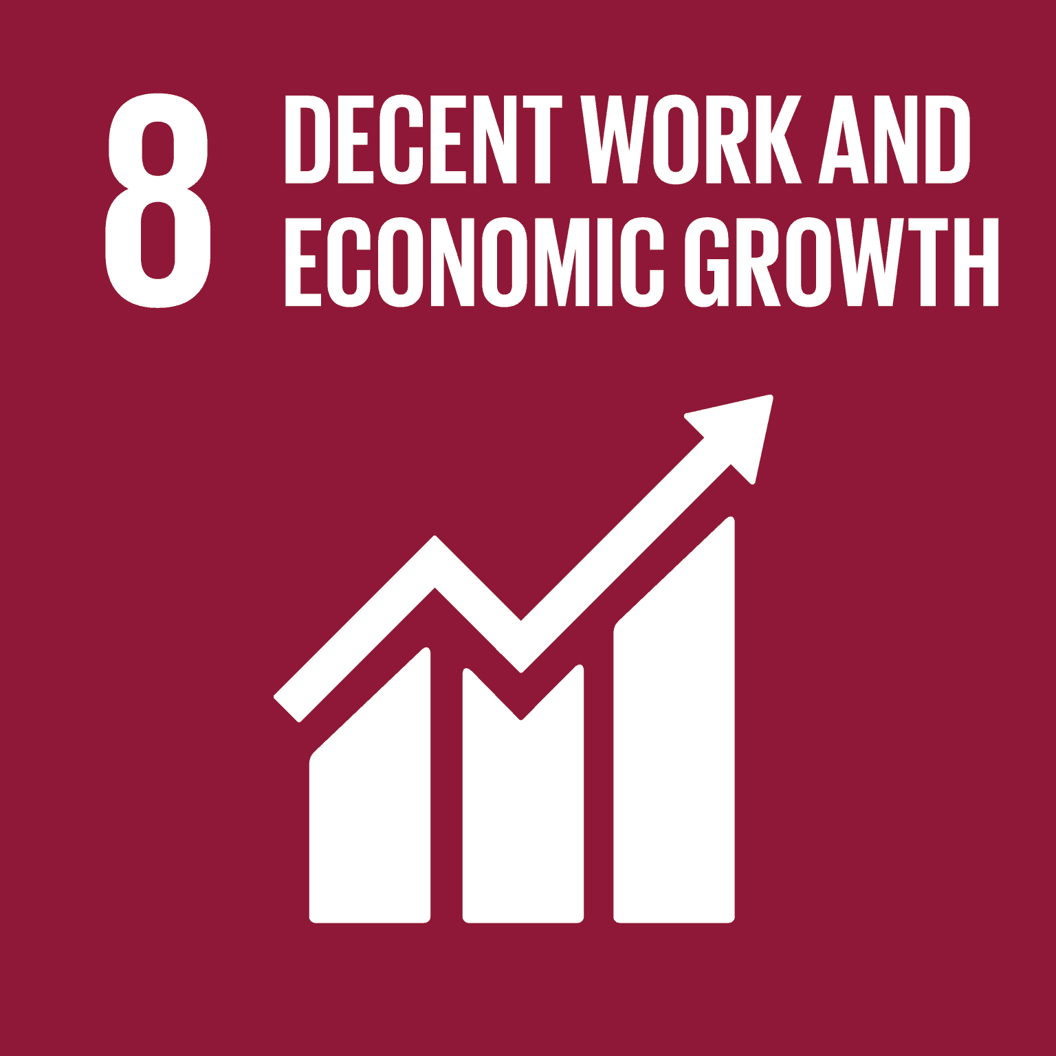 UN SDG Goal 8 - Decent Work and Economic Growth